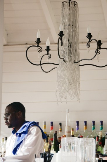 Bartender at The House, Barbados