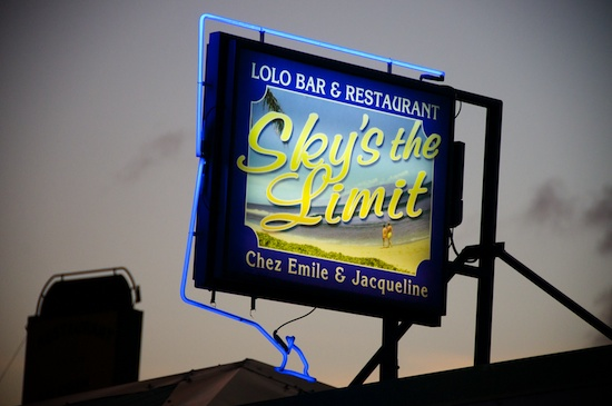Sky's the Limit lolo - St Martin