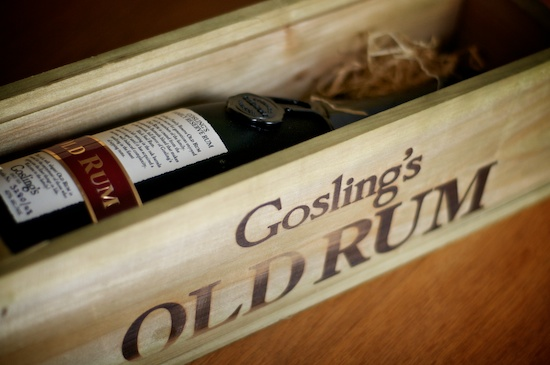 Gosling's Family Reserve Old Rum Coffin?
