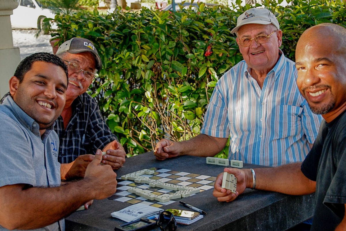 Winning at mostly losing playing dominoes with the locals in Old San Juan | SBPR