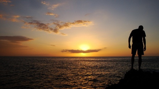 Sunset in Negril Jamaica