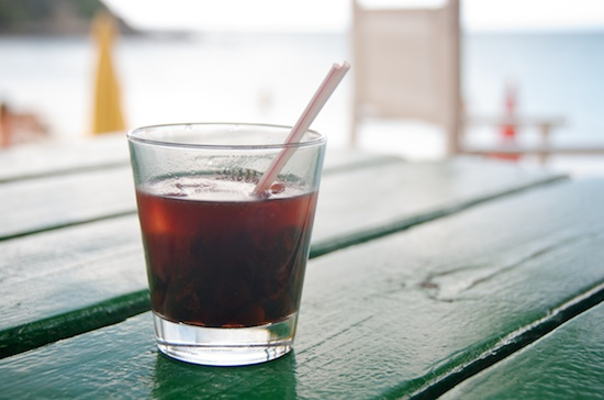 Guava Berry Infused Rum at Kali's Beach Bar, Friar's Bay, St. Martin