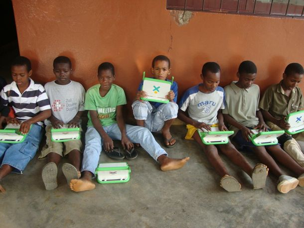 One Laptop Per Child, Haiti
