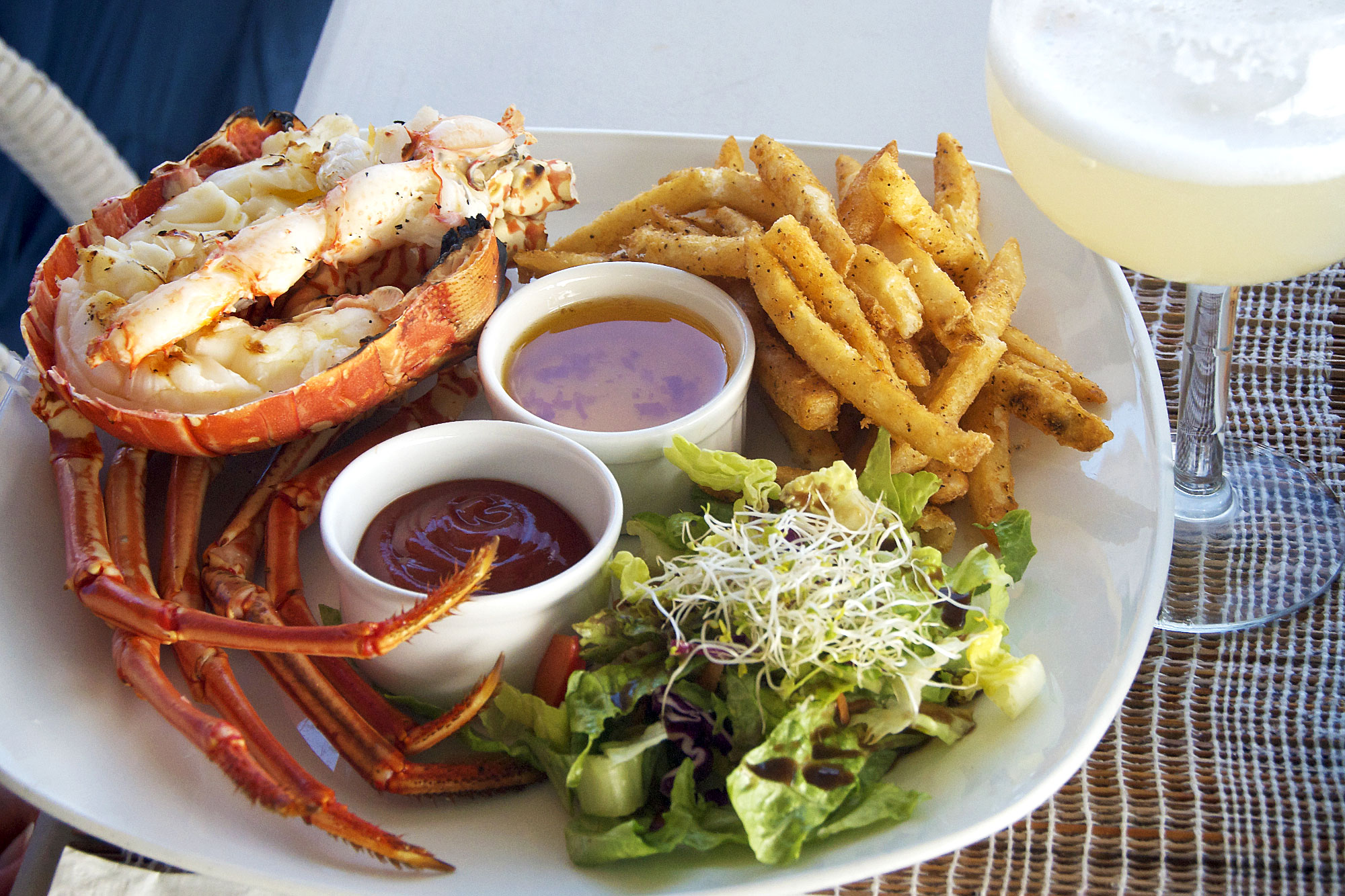 Lobster Alive Lunch, Barbados by Patrick Bennett