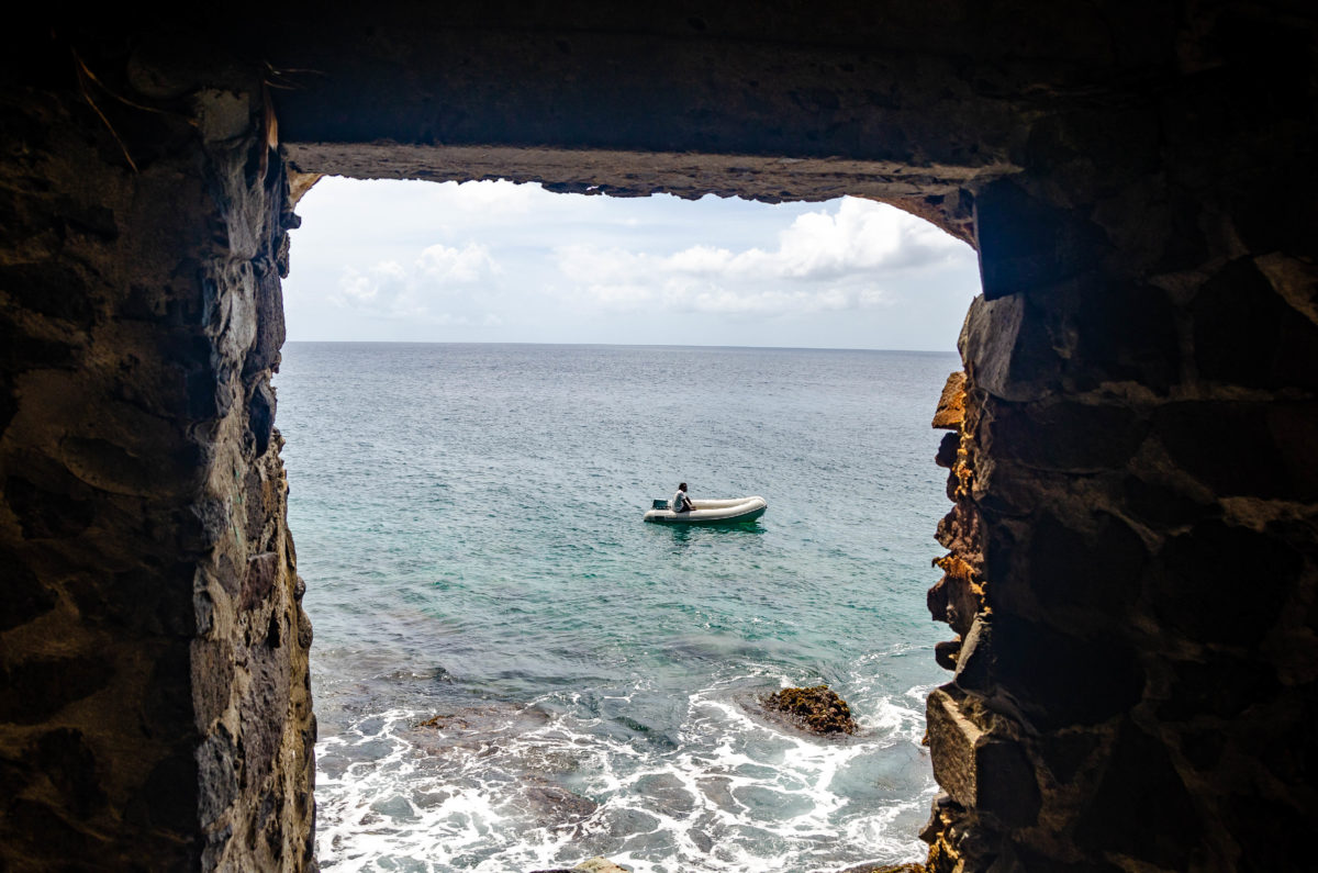 Moonhole, Bequia - Looking Out