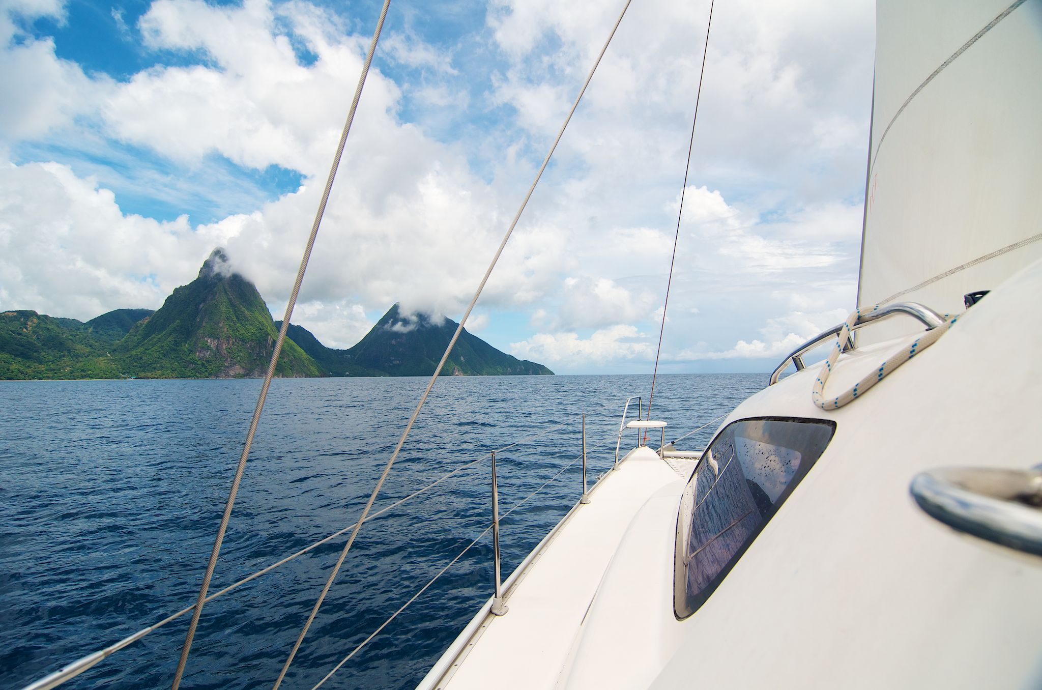 Sailing The Grenadines Part 2: Passing the Pitons and on to Bequia