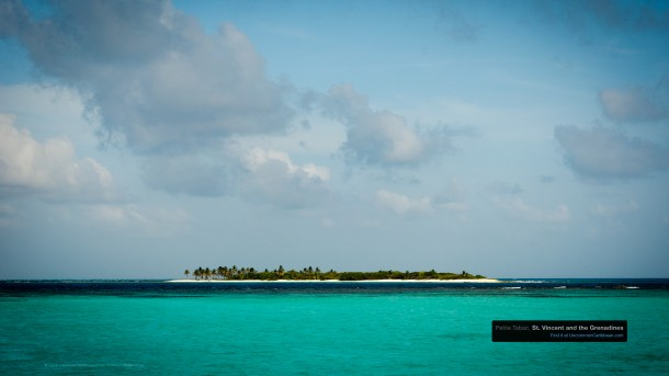 Petite Tabac, Tobago Cays in the Grenadines by Patrick Bennett