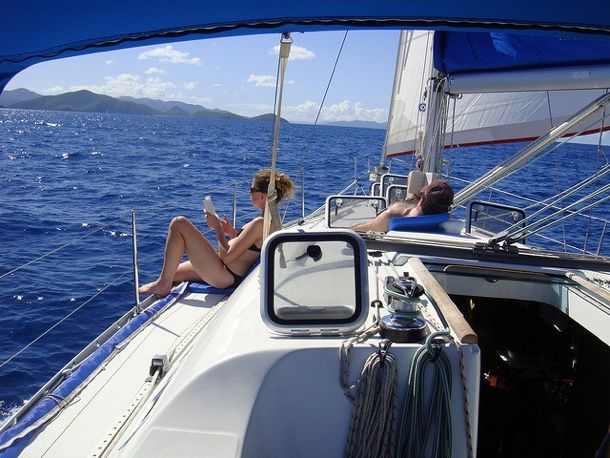 Sailing British Virgin Islands