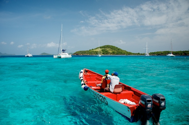 Tobago Cays Park Rangers by Patrick Bennett
