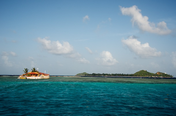 Happy Island, The Grenadines by Patrick Bennett