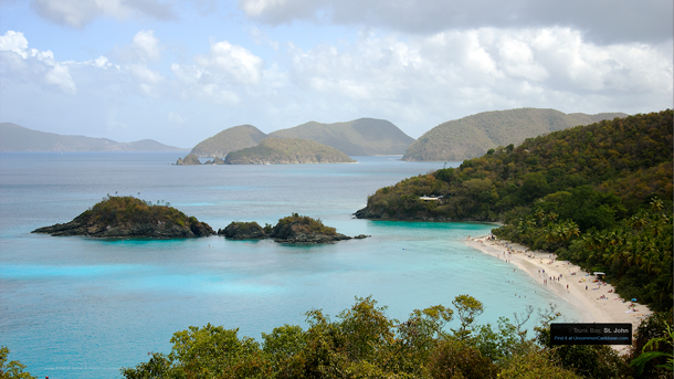 Trunk Bay, St. John Wallpaper Desktop
