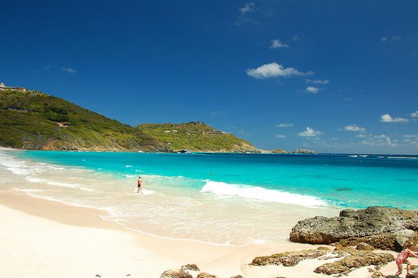 Macaroni Beach on Mustique
