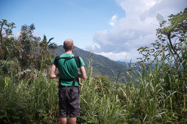 El Yunque National Forest, Puerto Rico Enjoying the View