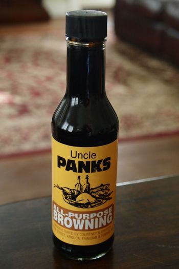 Uncle Panks Browning Sauce from Trinidad