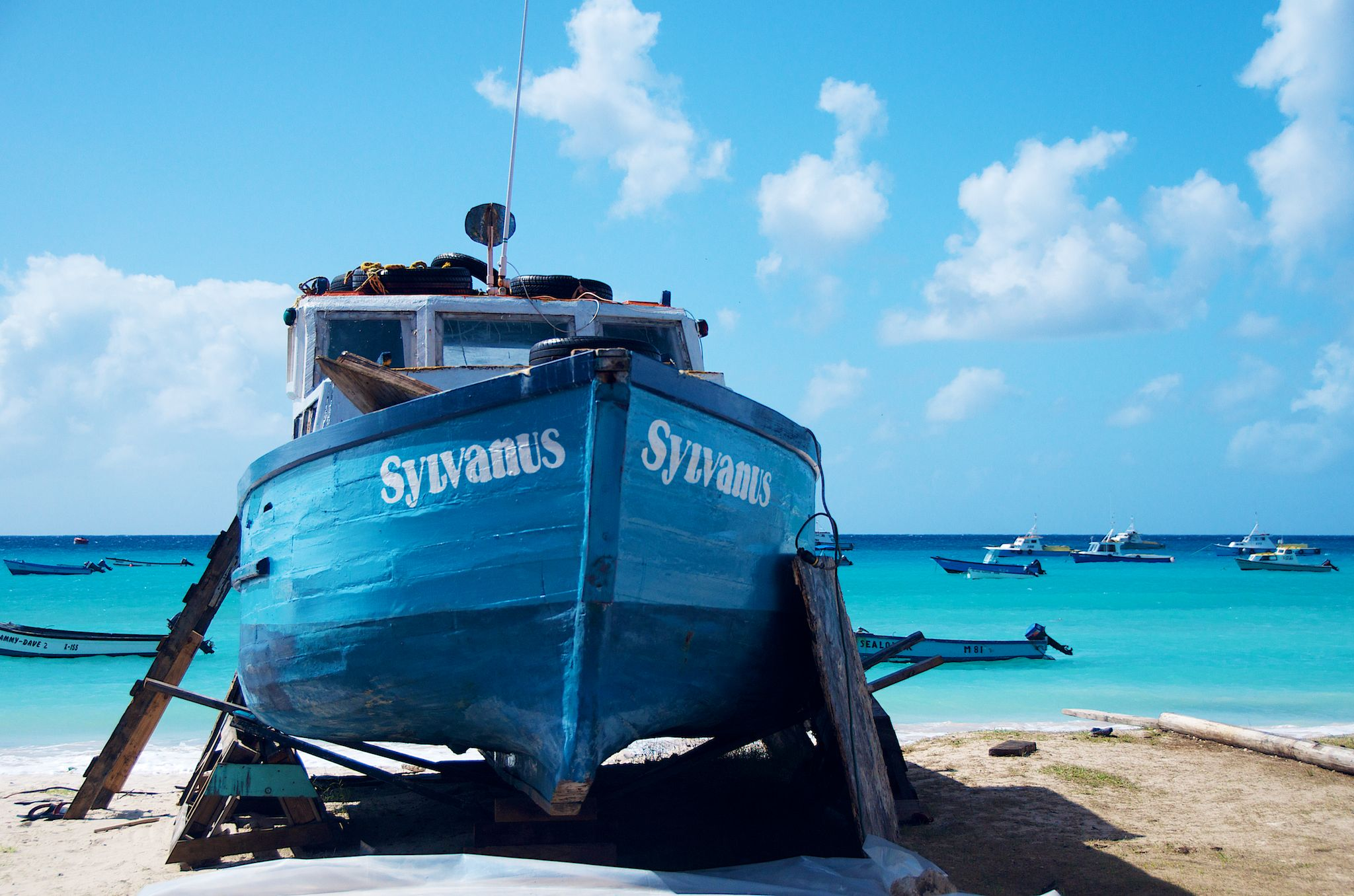 Oistins Fish Market By Day Barbados
