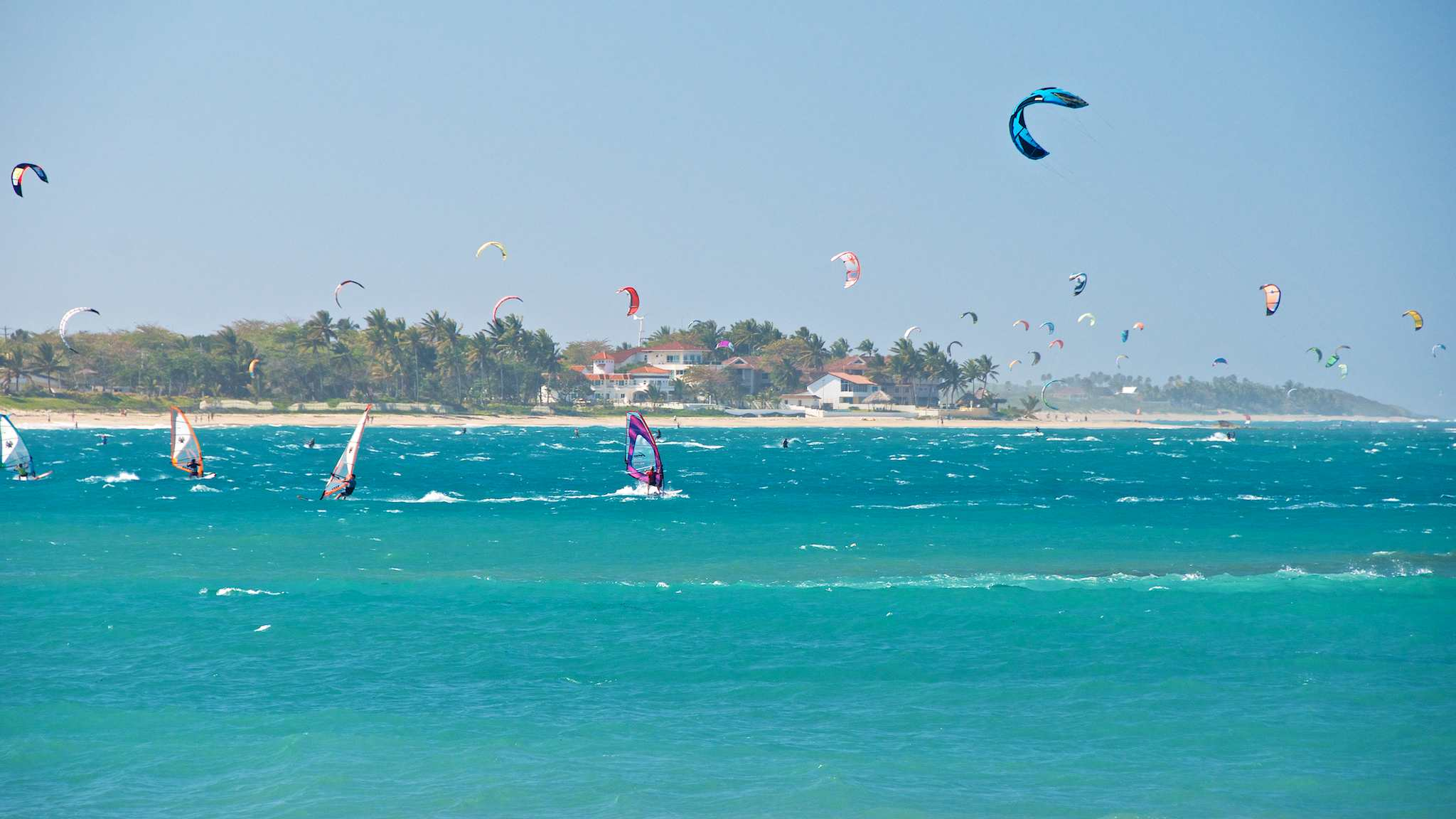 Dominican Republic Kiteboarding