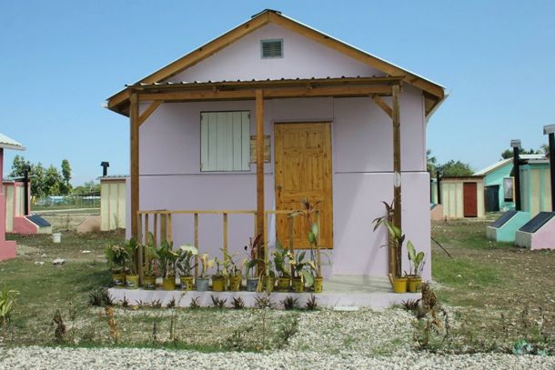 Habitat for Humanity Homes in Haiti