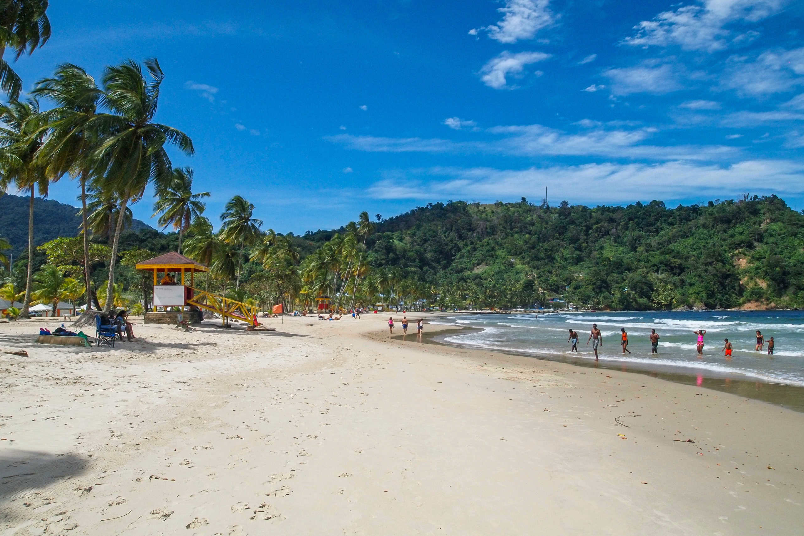Beautiful Maracas Beach, Trinidad