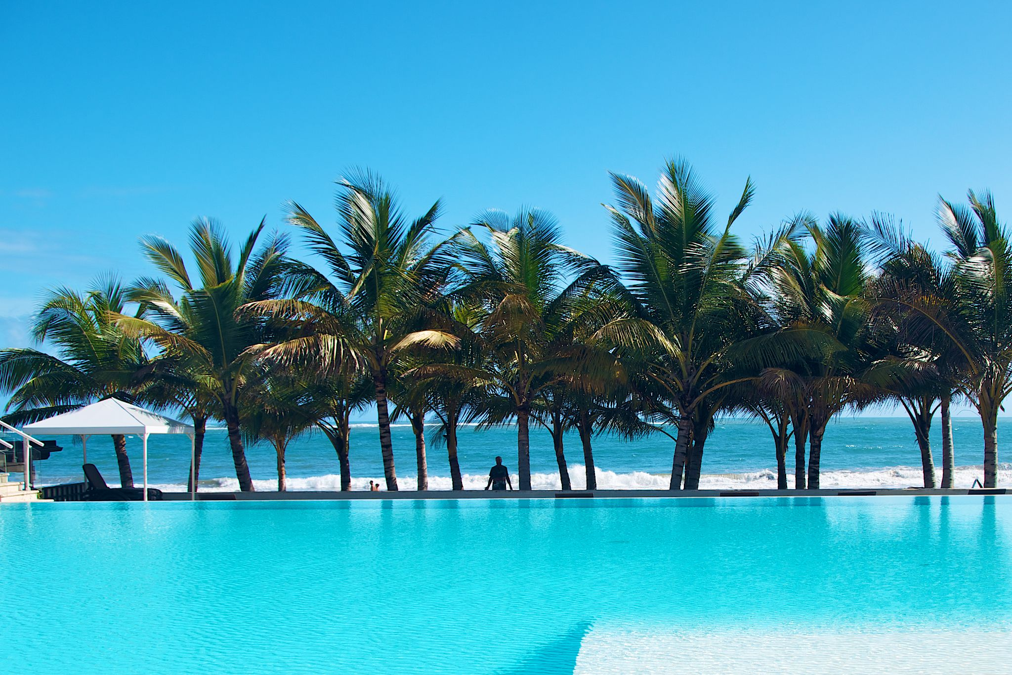The Pool at The Millennium Luxury Resort In Cabarete