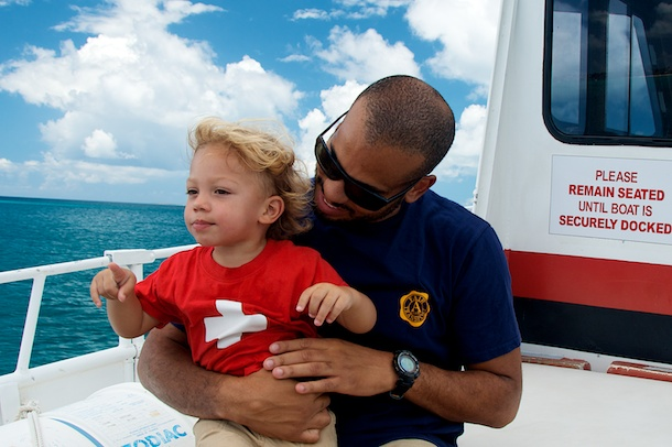The Traveling Toddler leaves SXM behind