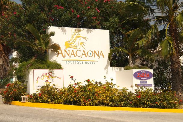 Entrance to Anacaona