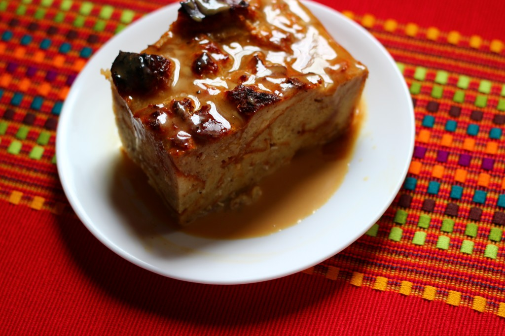 Coquito Bread Pudding by The Crucian Contessa