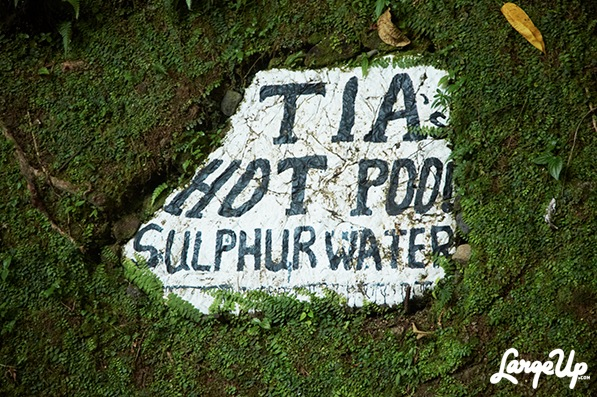 Tia's Hot Spa, Dominica