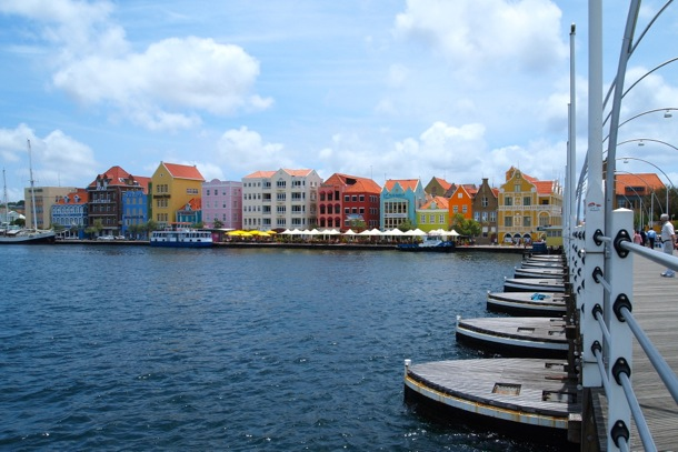 View of the Punda waterfront district in Willemstad, Curacao/SBPR