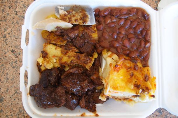 My lunch at The Breakfast Shed, Port-of-Spain | Credit: SBPR