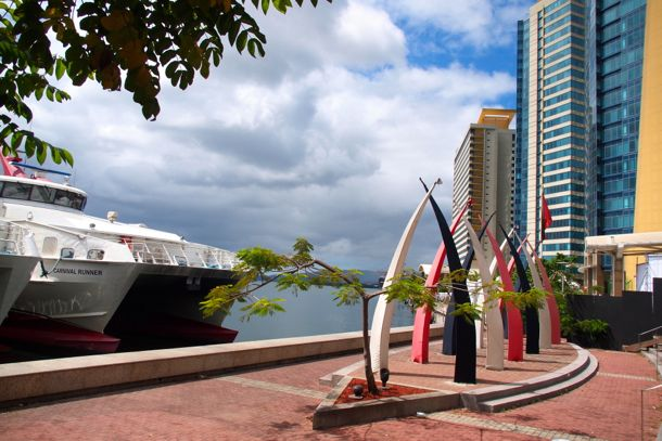View from The Breakfast Shed, Port-of-Spain | Credit: SBPR