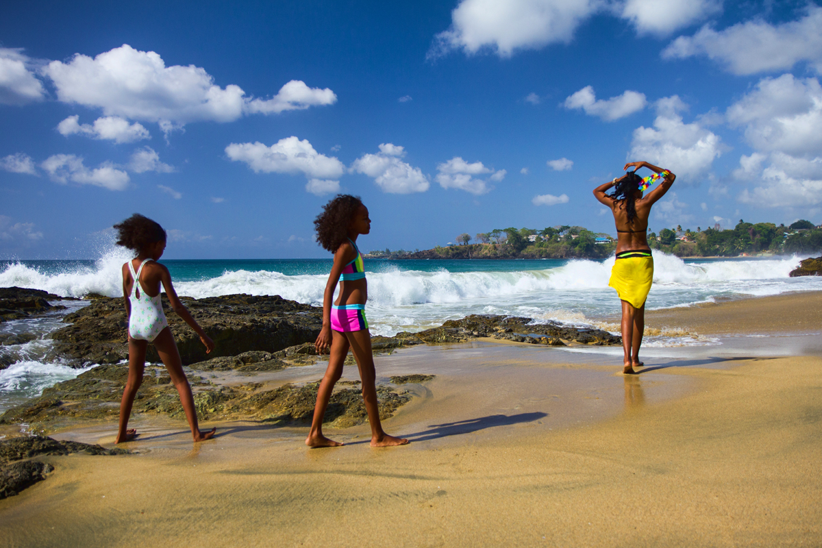 Life Is . . . Grafton Beach, Tobago, WI by Hugh Stickney