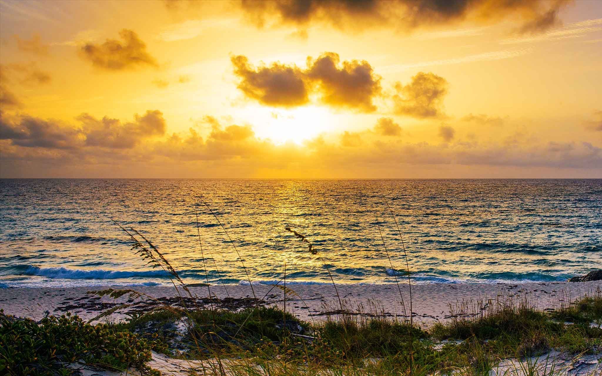 Staniel Cay Sunrise by Patrick Bennett