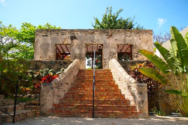 Stately Ruins at Estate Belvedere, St. Croix | SBPR