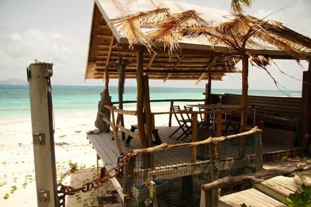 Oceanfront seating at The Dune Preserve, Anguilla | SBPR