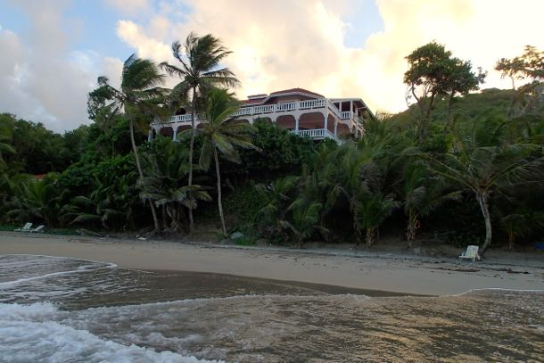 Petite Anse Hotel as enjoyed from the sea | SBPR