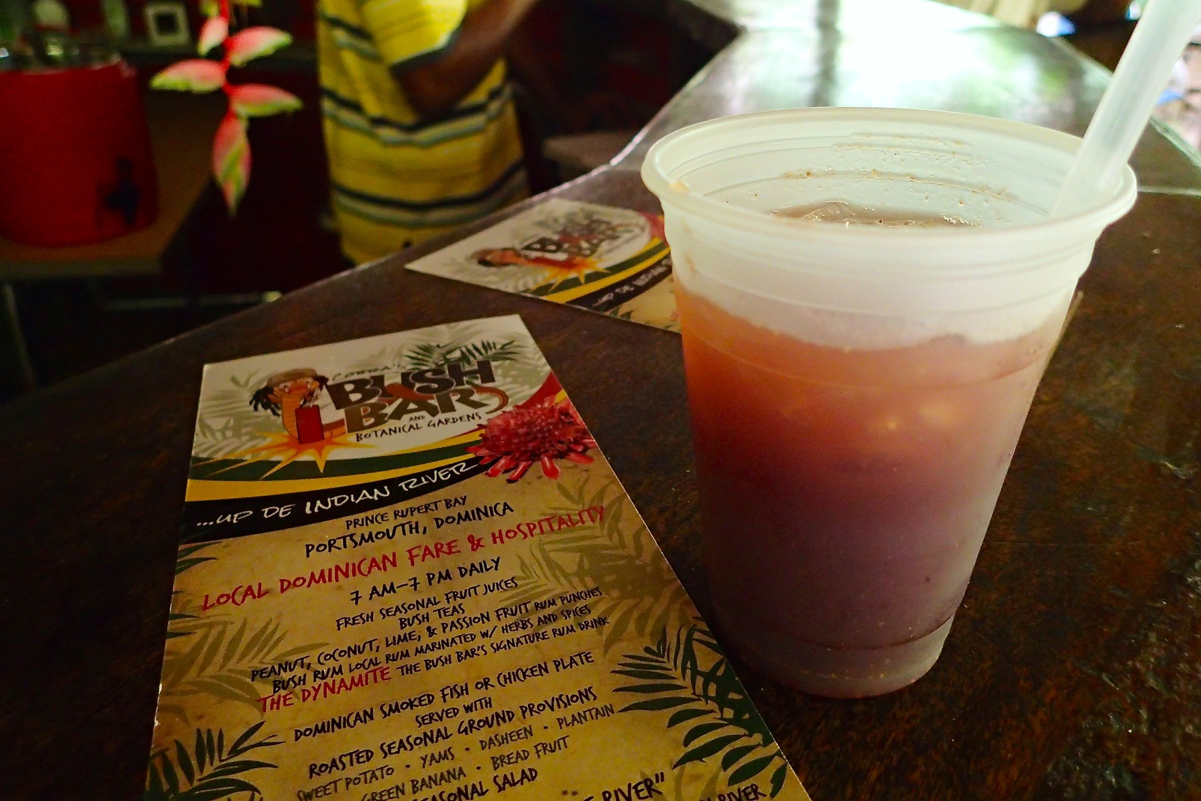 Indian River Dominica Dynamite Rum Cocktail