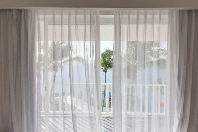 Xeliter Vista Mare view from bed by Patrick Bennett