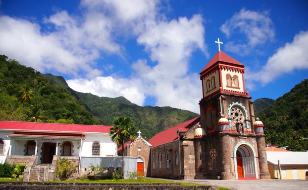 Saint Marks Church in Soufriere, Dominica | SBPR