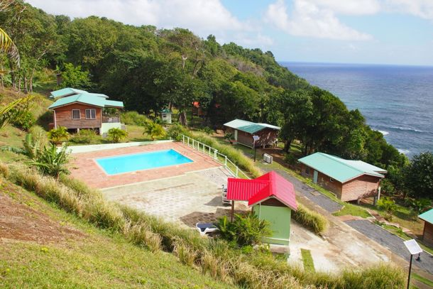 Sunrise Farm Cottages Pool Area | SBPR