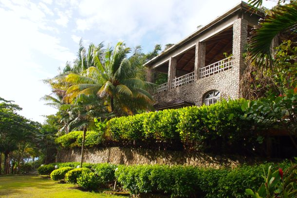 Main building at Jungle Bay Resort & Spa, Dominica | SBPR