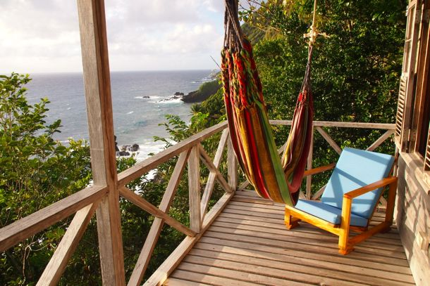 My Balcony at Jungle Bay, Dominica | SBPR