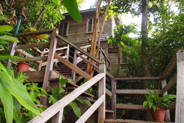Up this way to the Spa du Soleil at Jungle Bay, Dominica | SBPR
