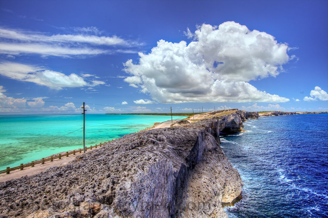 Glass Window Bridge, Eleuthera