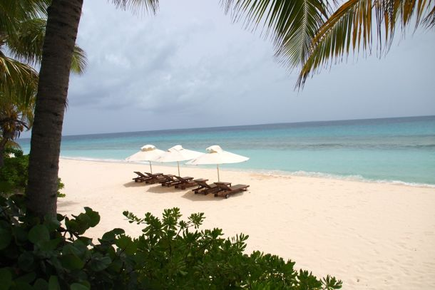 The beach at Sea Villa, Anguilla | SBPR