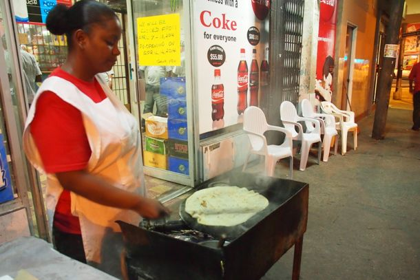 Cooking on the Avenue in St. James, Port-of-Spain, Trinidad | SBPR