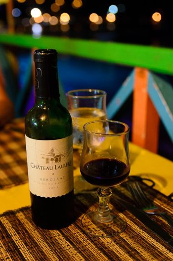 Zickie's fab French vin rouge | Credit: Zickie Allgrove