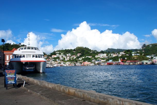 Along the waterfront in The Carenage, Grenada | SBPR