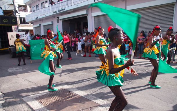 Dominica Carnival Flag Girls | SBPR