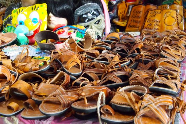 Sandals and assorted other curiosities | SBPR