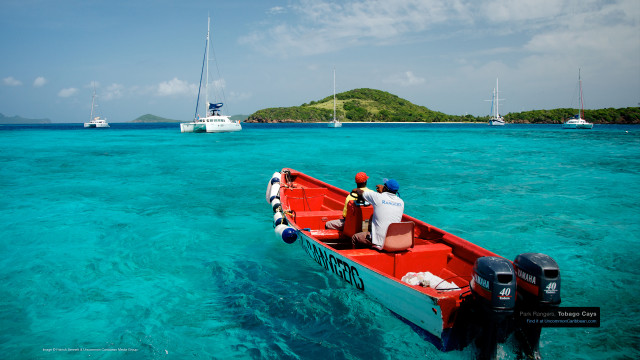 Park Rangers, Tobago Cays, St. Vincent and the Grenadines
